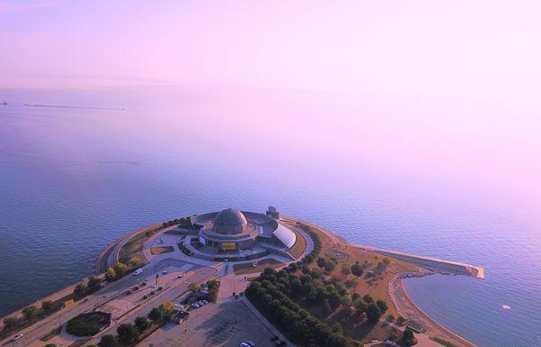 Adler Planetarium Sunrise