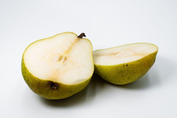 A Pair of Pear Halves