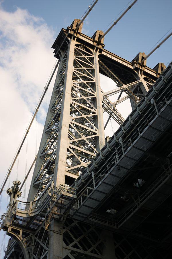 Williamsburg Bridge from Below