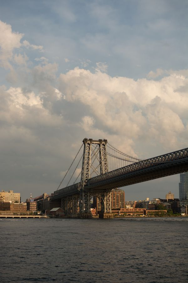 Williamsburg Bridge from Manhattan
