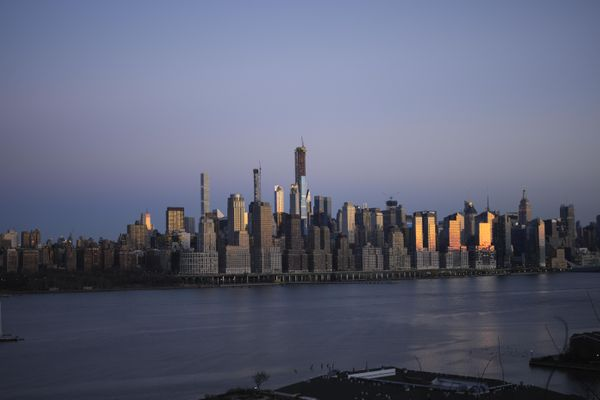 NYC Skyline at Blue Hour