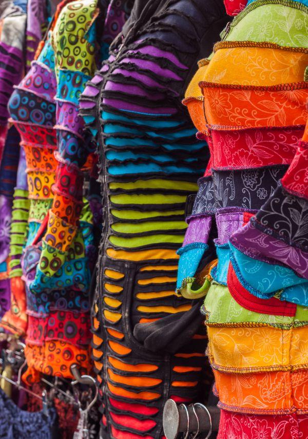 Coloured Dresses
