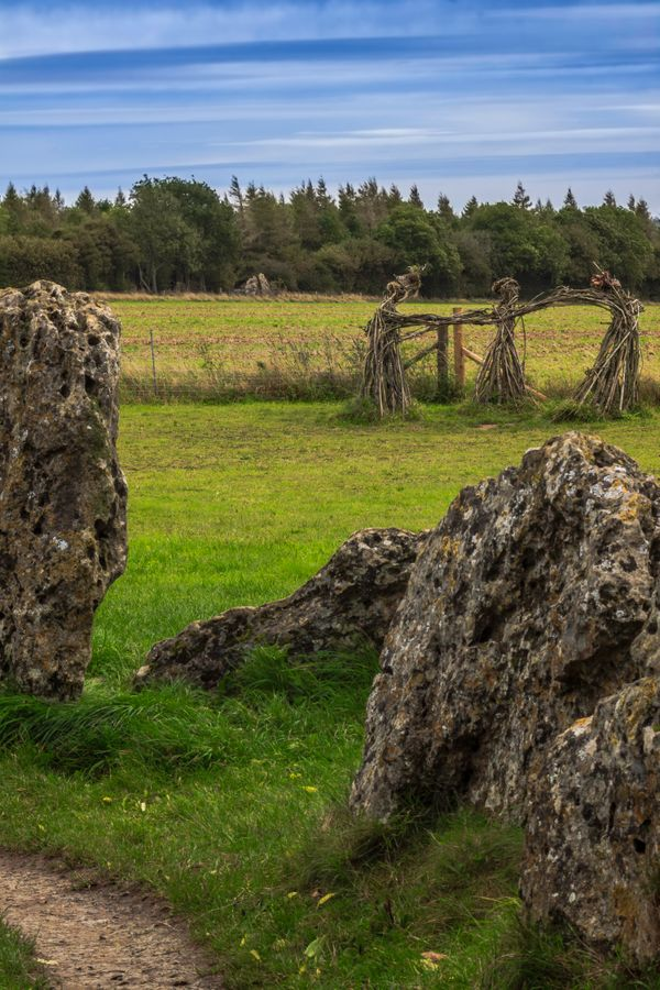 Rollright Stones and Dancers 2