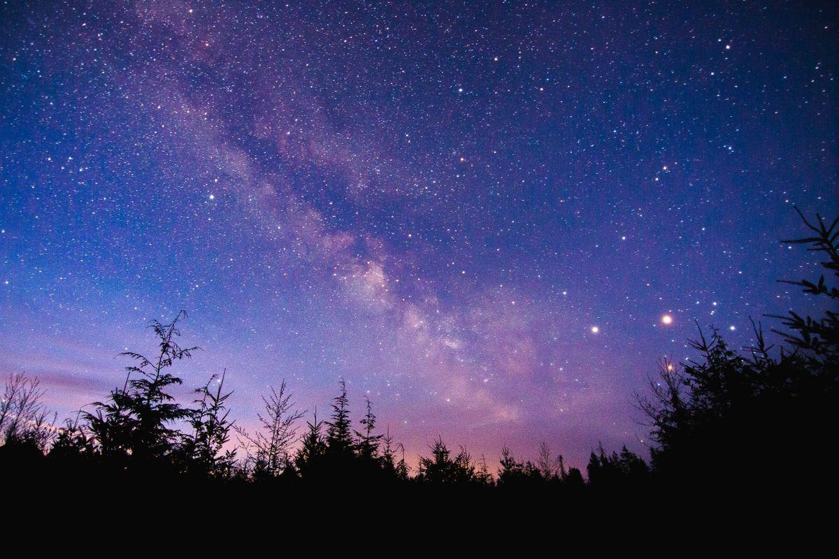 Antares, Saturn, Mars - Forks, WA